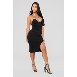 Sexy black dress for the holidays!!